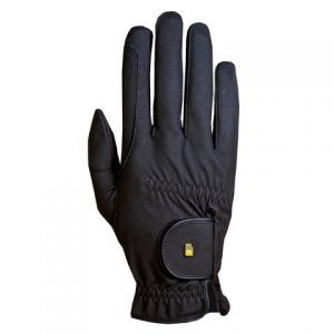 RoeckI Grip Riding Glove – Black