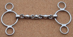 Continental Waterford Snaffle (3 Ring)