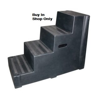 Classic Showjumps Premium Mounting Block Four Tread