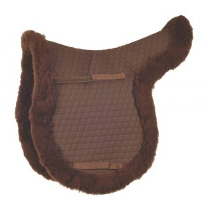 NuuMed HiWither GP Wool Numnah – Brown
