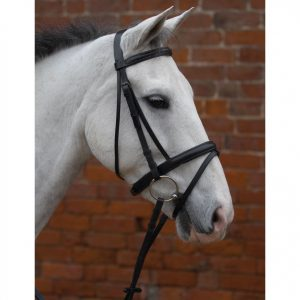 Bridle – Hy Padded Flash with Rubber Grip Reins