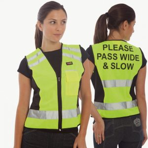 HyVIZ Waistcoat – Please Pass Wide & Slow