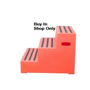 Classic Showjumps Premium Mounting Block Three Tread