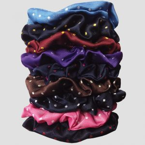 Equetech Polka Dot Hair Scrunchie