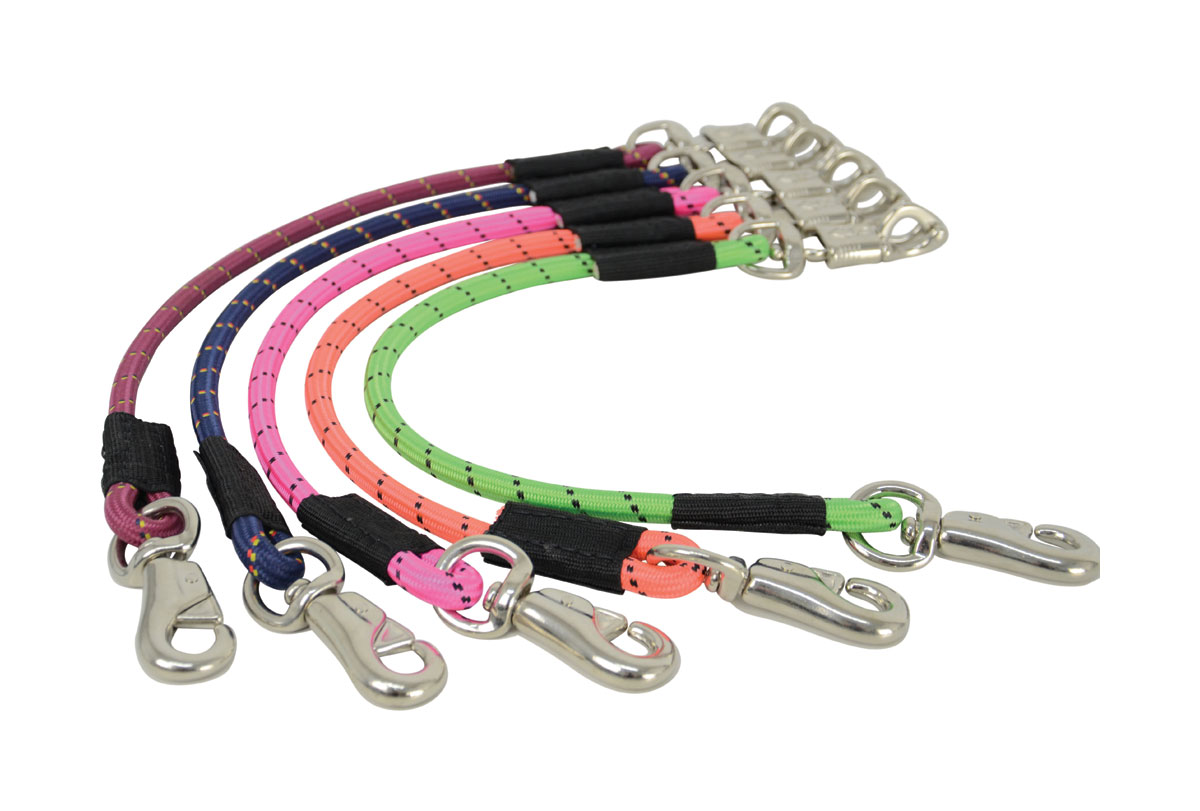 Hy Soft Webbing Lead Rein With Chain PR-3009
