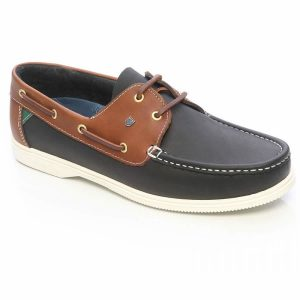 Dubarry Admirals Deck Shoes – Navy/Brown