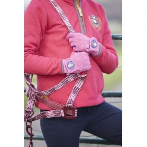 Childrens Toggi Medal Colourful Glove – Pink