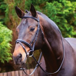 Bridle – Caldene Black Label Crank Noseband