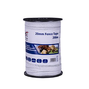 Fenceman Fence Tape – 20mmx200m