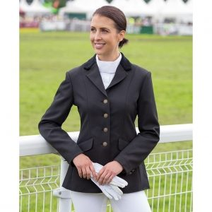 Ladies Shires Aston Show Jacket – Black