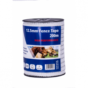 Fenceman Fence Tape 12.5mm x 200m