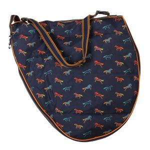 Shires Horse Print Saddle Bag