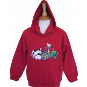 British Country Collection Hoodie – Farmyard