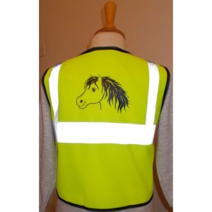 British Country Collection Rocky Pony Hi Viz Vest