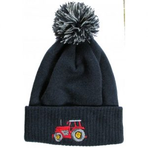 British Country Collection Kids Tractor Hat – Navy