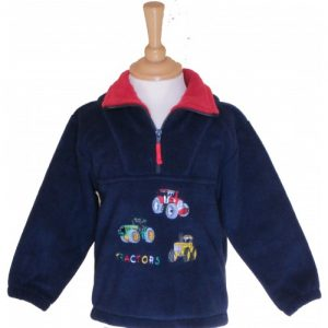 British Country Collection Fleece – Three Tractors