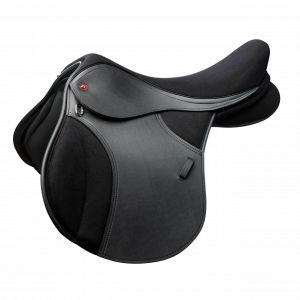 Thorowgood T4 Pony Saddle – Black 15.5″