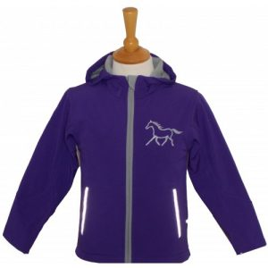 British Country Collection Softshell Jacket – Purple