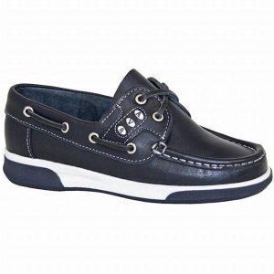 Dubarry Kapley Kid's Deck Shoe – Navy