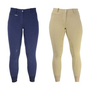 Ladies HyPerformance Derby Silicon Breeches