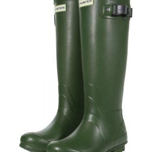 Hunter Norris Field Wellington Boot – Vintage Green