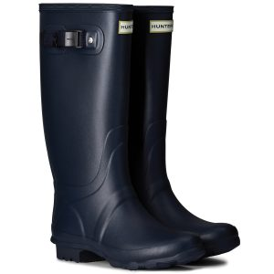Hunter Norris Field Wellington Boot – Navy