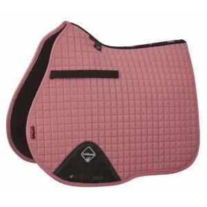 LeMieux ProSport Suede GP Square – Blush Pink