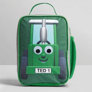 Tractor Ted Insulated LunchBag with Side Pocket
