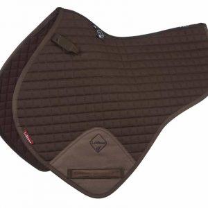 LeMieux ProSport Close Contact Half Square Numnah – Brown
