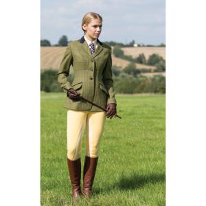 Ladies Equetech Adstock Deluxe Tweed Riding Jacket