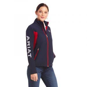 Ariat Ladies New Team Softshell – Navy