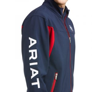 Ariat Mens New Team Softshell – Navy