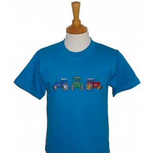 British Country Collection T-Shirt – Three Tractors