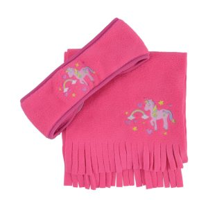 Little Unicorn Head Band & Scarf Set