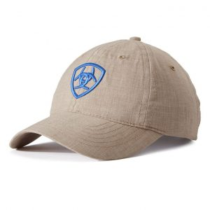 Ariat Adult Unisex Arena Cap – Toasted Almond/Dutch Blue