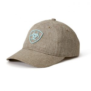 Ariat Adult Unisex Arena Cap – Heathered Cedar/Sky
