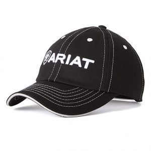 Ariat Adult Unisex Team Cap II – Black/White