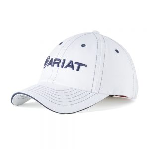 Ariat Adult Unisex Team Cap II – White/Navy