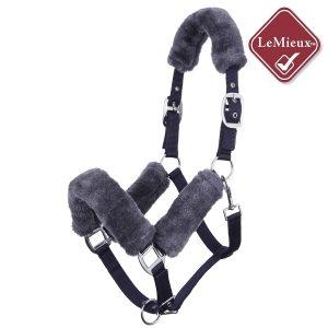 LeMieux Comfort Headcollar – Navy/Grey