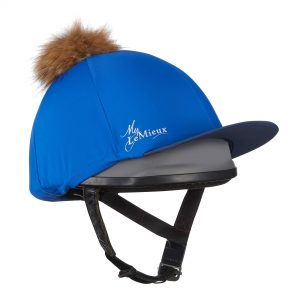 LeMieux Pom Pom Hat Silk – Benetton Blue