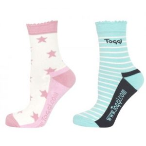 Toggi Hattie Ladies Two Pack Socks – Vanilla