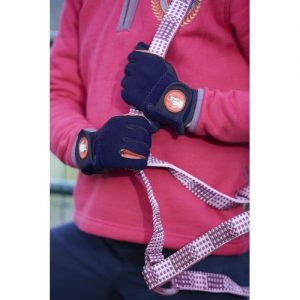 Childrens Toggi Medal Colourful Glove – Navy