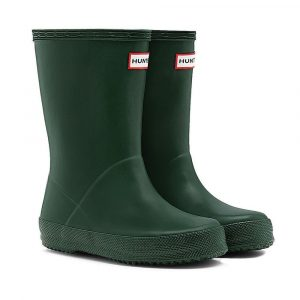 Hunter Kids First Classic Wellington Boot – Green