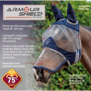 LeMieux Armour Shield Fly Protector – Full Monty
