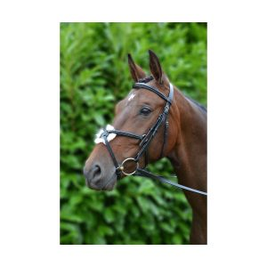 Bridle – Hy Mexican with Rubber Grip Reins
