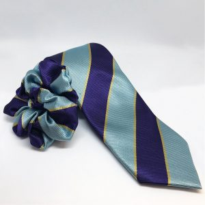 Equetech Junior Pony Club Stripes Show Tie