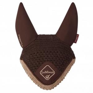LeMieux Classic Fly Hood – Brown
