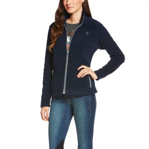 Ariat Ladies basis 2.0 Full Zip Jacket – Navy