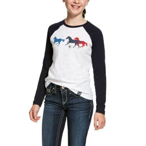 Ariat Kids Running Horse Tee