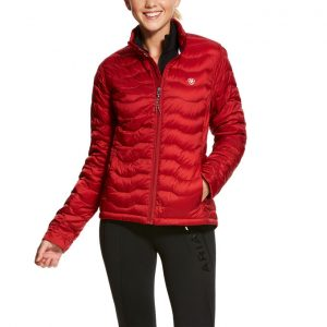 Ariat Ladies Ideal 3.0 Down Jacket – Laylow Red